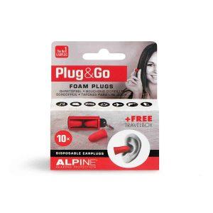 Plug&Go  5 Sets Schuim Oordoppen