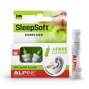SleepSoft & Clean – Slaap Oordoppen + Reiniger